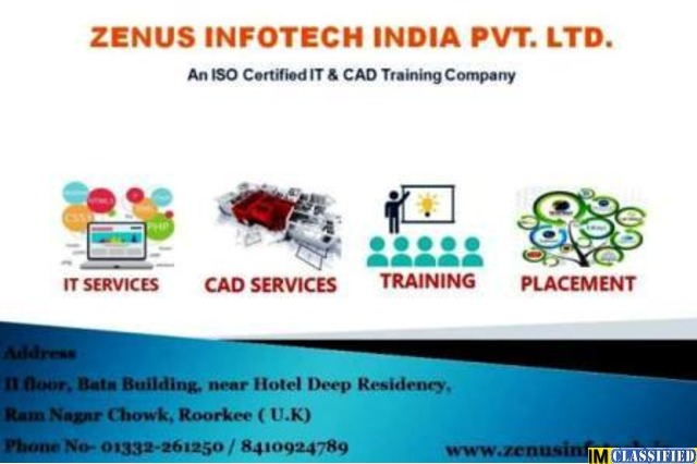 Best JAVA training in ROORKEE | ZENUS INFOTECH INDIA PVT LTD - 1/1